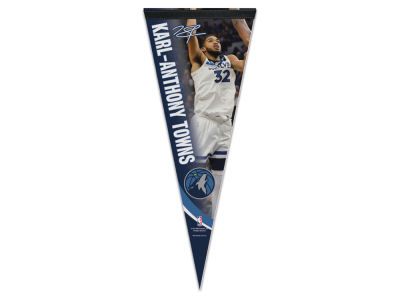 Minnesota Timberwolves Karl-Anthony Towns 12x30 Premium Player Pennant