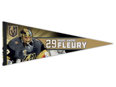 Vegas Golden Knights Marc-Andre Fleury 12x30 Premium Player Pennant