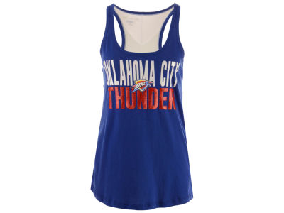 Oklahoma City Thunder 5th & Ocean NBA Women's Glitter Tank