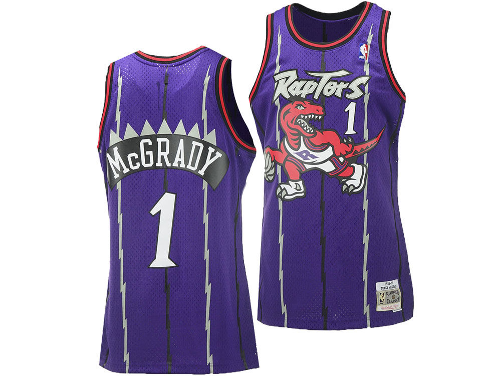 1a42e6eb5 Toronto Raptors Tracy McGrady NBA Men s Hardwood Classic Swingman Jersey