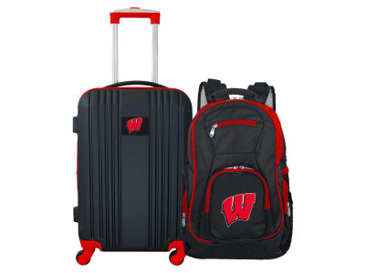 Wisconsin Badgers Mojo 2 Piece Luggage & Backpack