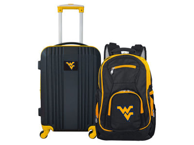 West Virginia Mountaineers Mojo 2 Piece Luggage & Backpack