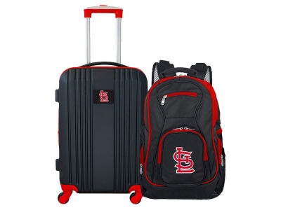St. Louis Cardinals Mojo 2 Piece Luggage & Backpack