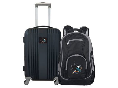 San Jose Sharks Mojo 2 Piece Luggage & Backpack