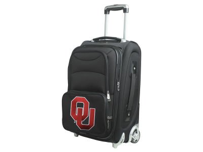Oklahoma Sooners Mojo Luggage Carry-On 21in Rolling Softside Nylon