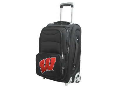 Wisconsin Badgers Mojo Luggage Carry-On 21in Rolling Softside Nylon