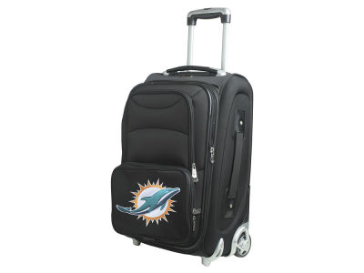 Miami Dolphins Mojo Luggage Carry-On 21in Rolling Softside Nylon