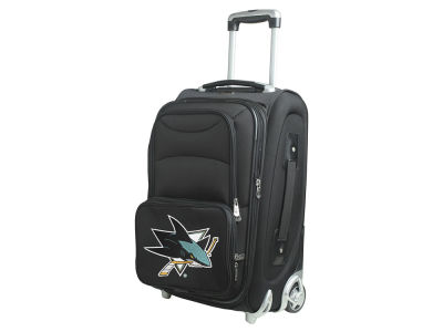 San Jose Sharks Mojo Luggage Carry-On 21in Rolling Softside Nylon