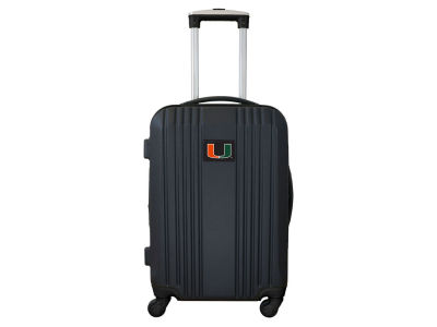 Miami Hurricanes Mojo Luggage Carry-on 21in Hardcase Two-Tone Spinner