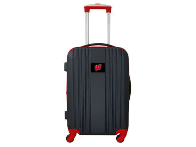 Wisconsin Badgers Mojo Luggage Carry-on 21in Hardcase Two-Tone Spinner
