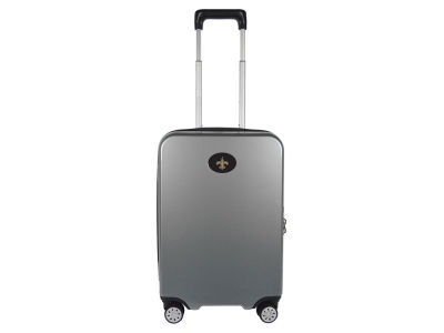 New Orleans Saints Mojo Luggage Carry-on 22in Hardcase Spinner