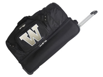 Washington Huskies Mojo 27in Wheeled Duffel Bag