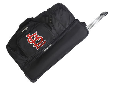 St. Louis Cardinals Mojo 27in Wheeled Duffel Bag