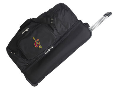 Cleveland Cavaliers Mojo 27in Wheeled Duffel Bag