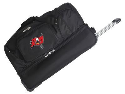 Tampa Bay Buccaneers Mojo 27in Wheeled Duffel Bag