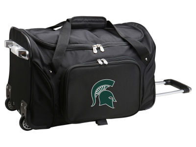 Michigan State Spartans Mojo 22in Wheeled Duffel Bag
