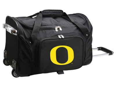 Oregon Ducks Mojo 22in Wheeled Duffel Bag