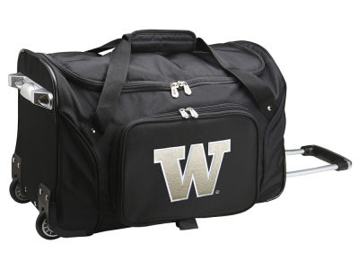 Washington Huskies Mojo 22in Wheeled Duffel Bag