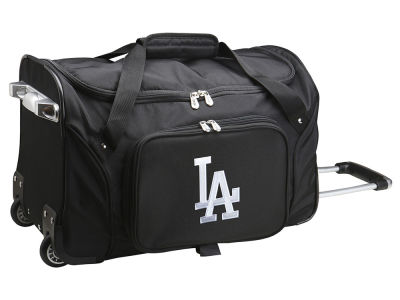 Los Angeles Dodgers Mojo 22in Wheeled Duffel Bag