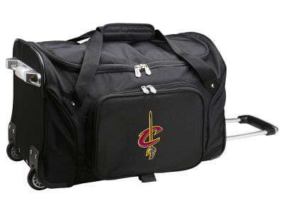 Cleveland Cavaliers Mojo 22in Wheeled Duffel Bag