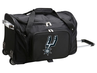 San Antonio Spurs Mojo 22in Wheeled Duffel Bag