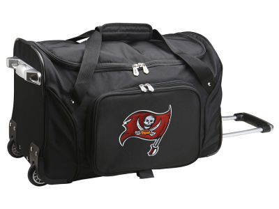 Tampa Bay Buccaneers Mojo 22in Wheeled Duffel Bag
