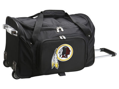 Washington Redskins Mojo 22in Wheeled Duffel Bag