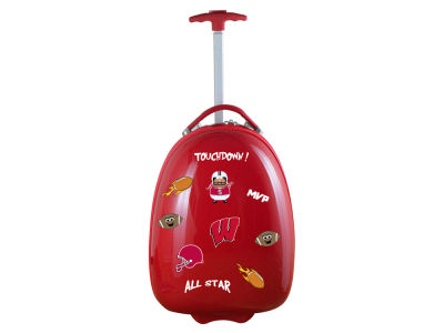 Wisconsin Badgers Mojo Kids Luggage