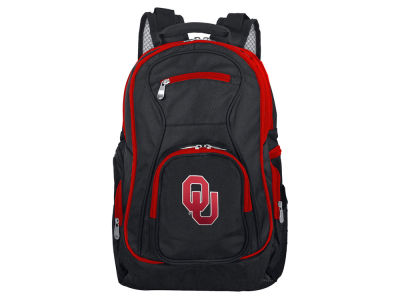 Oklahoma Sooners Mojo Trim Color Laptop Backpack