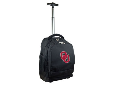 Oklahoma Sooners Mojo Wheeled Premium Backpack