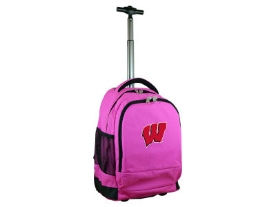 Wisconsin Badgers Mojo Wheeled Premium Backpack