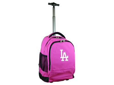 Los Angeles Dodgers Mojo Wheeled Premium Backpack