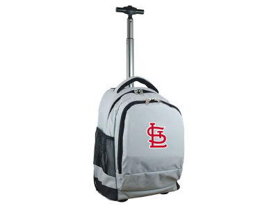 St. Louis Cardinals Mojo Wheeled Premium Backpack