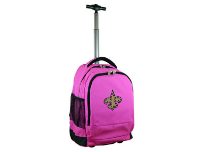 New Orleans Saints Mojo Wheeled Premium Backpack