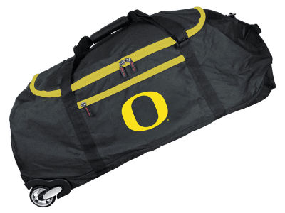 Oregon Ducks Mojo 36in Checked In Rolling Duffel