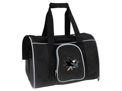 San Jose Sharks Mojo Pet Carrier Premium 16in Bag