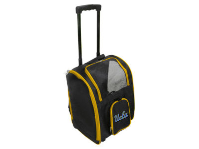 UCLA Bruins Mojo Pet Carrier Premium Bag with Wheels