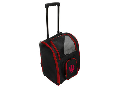 Indiana Hoosiers Mojo Pet Carrier Premium Bag with Wheels