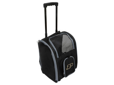 Purdue Boilermakers Mojo Pet Carrier Premium Bag with Wheels