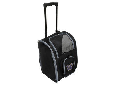 Washington Huskies Mojo Pet Carrier Premium Bag with Wheels