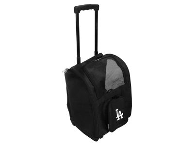Los Angeles Dodgers Mojo Pet Carrier Premium Bag with Wheels