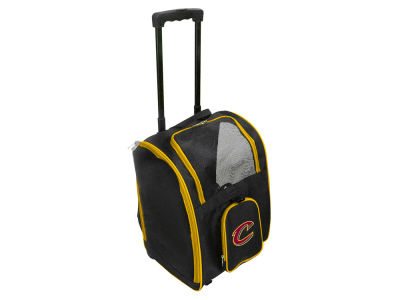 Cleveland Cavaliers Mojo Pet Carrier Premium Bag with Wheels
