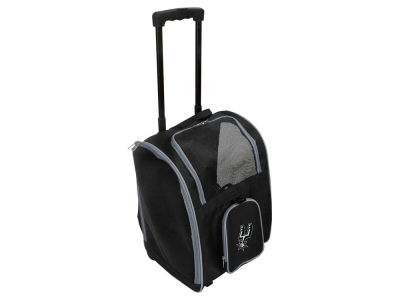 San Antonio Spurs Mojo Pet Carrier Premium Bag with Wheels