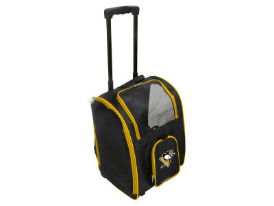Pittsburgh Penguins Mojo Pet Carrier Premium Bag with Wheels