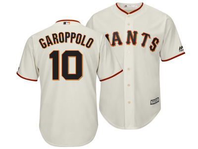 San Francisco Giants Jimmy Garoppolo Majestic MLB Men's NFLPA Replica Cool Base Jersey