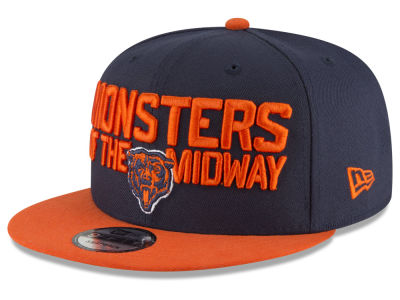 first rate 81f38 6586a Chicago Bears 2018 NFL Draft Spotlight 9FIFTY Snapback Cap
