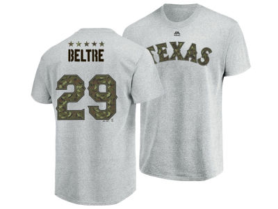 Texas Rangers Adrian Beltre Majestic MLB Men's Camo Player T-Shirt