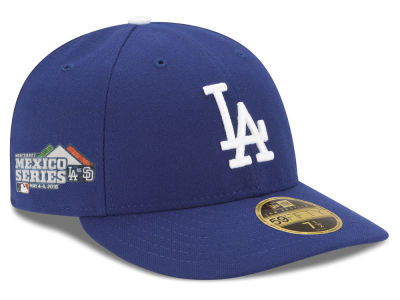 Los Angeles Dodgers New Era 2018 MLB Mexico Series Low Profile 59FIFTY Cap