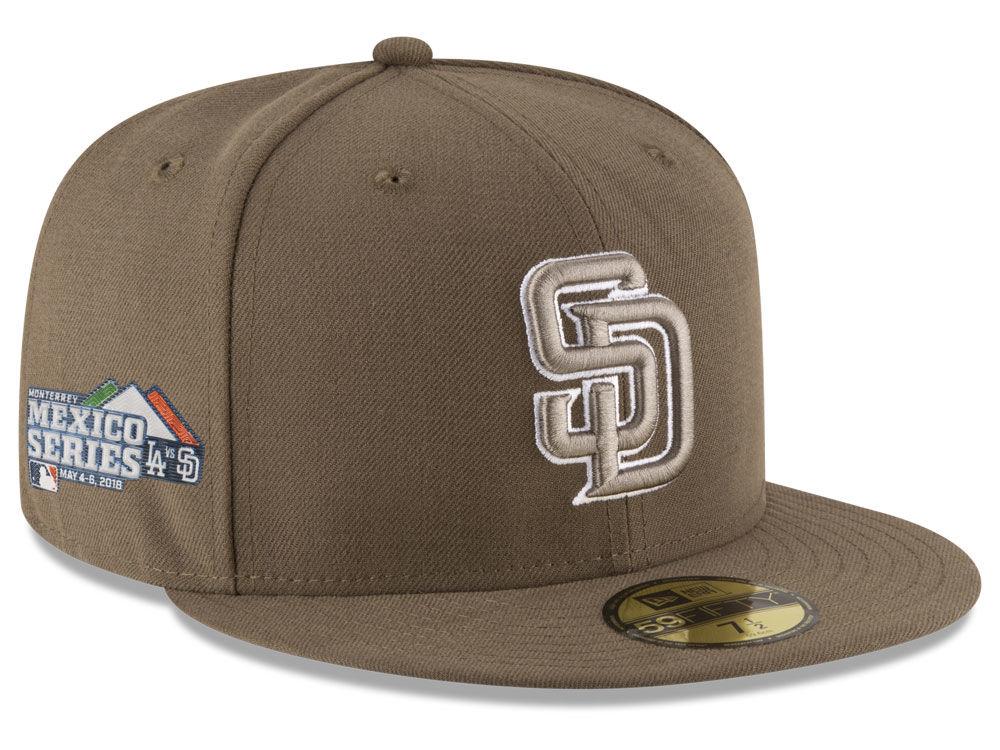 94eaf0ff278 San Diego Padres New Era 2018 MLB Mexico Series 59FIFTY Cap