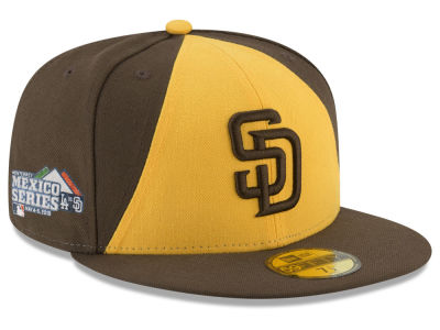San Diego Padres New Era 2018 MLB Mexico Series 59FIFTY Cap